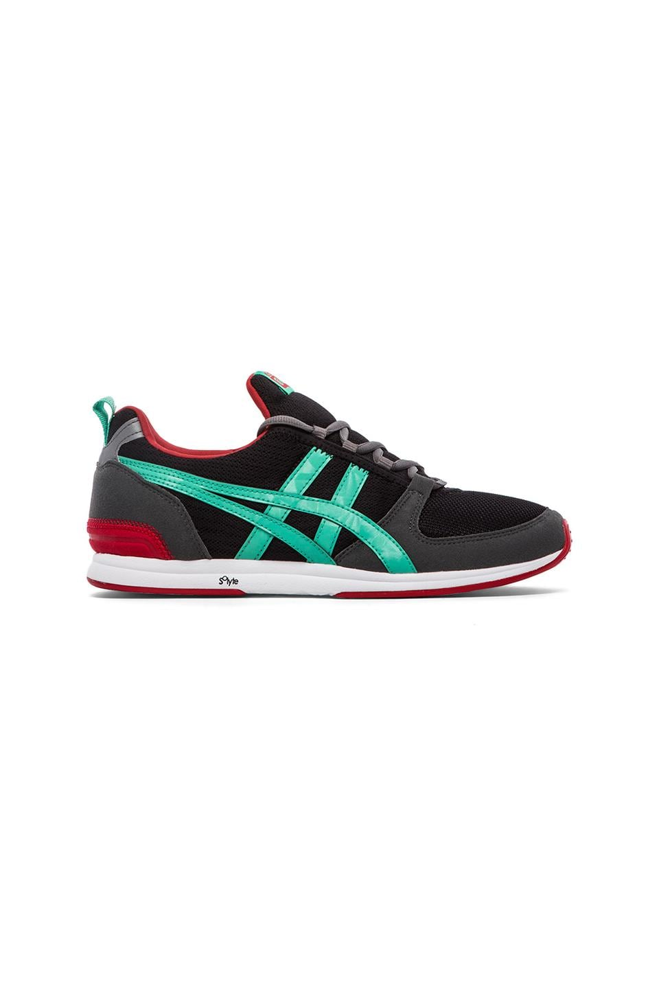 Onitsuka Tiger Ult-Racer in Black & Mint Leaf