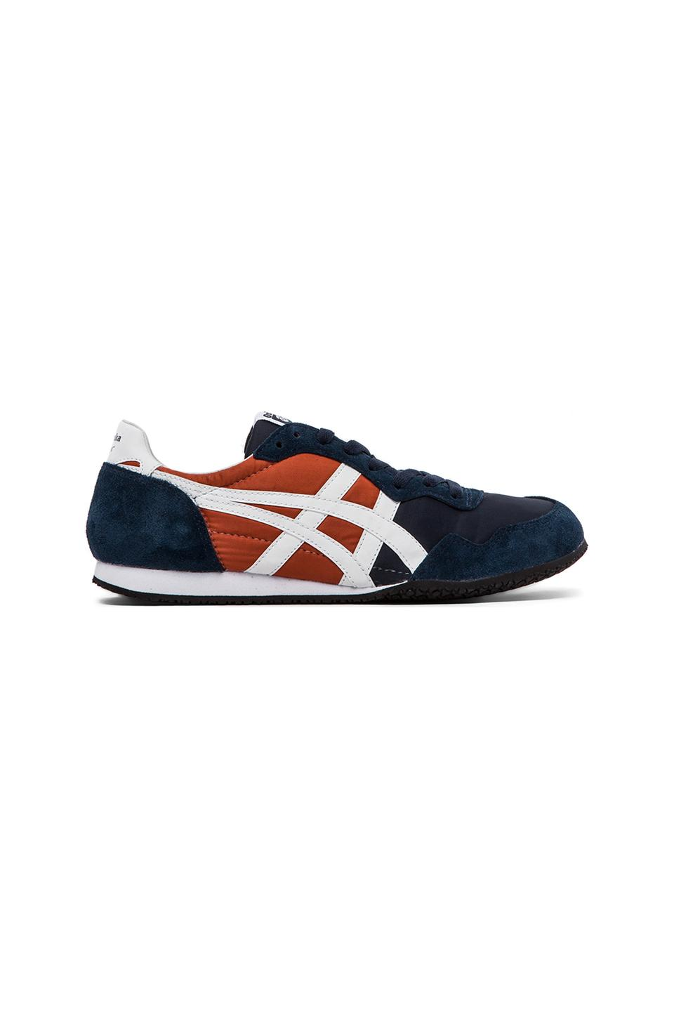 Onitsuka Tiger Serrano in Dark Navy & White