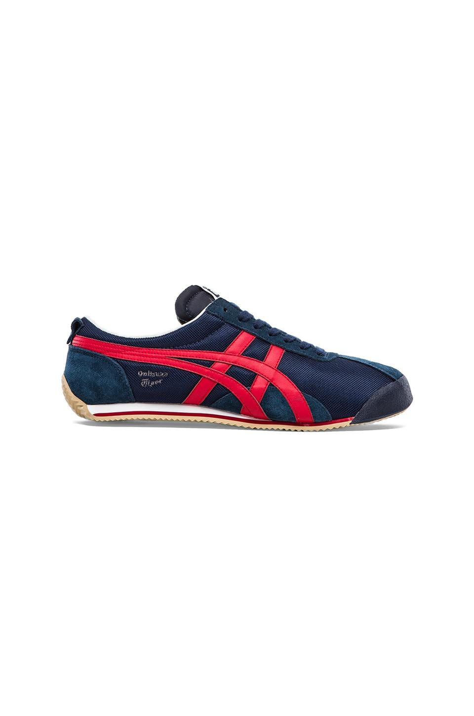 Onitsuka Tiger Fencing in Navy/Red