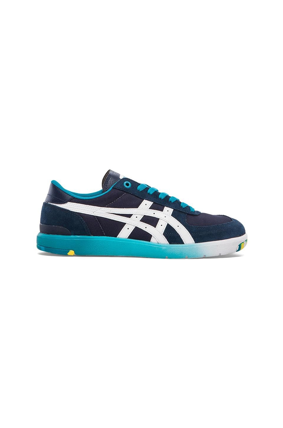 Onitsuka Tiger Pine Star Court Lo in Navy & White