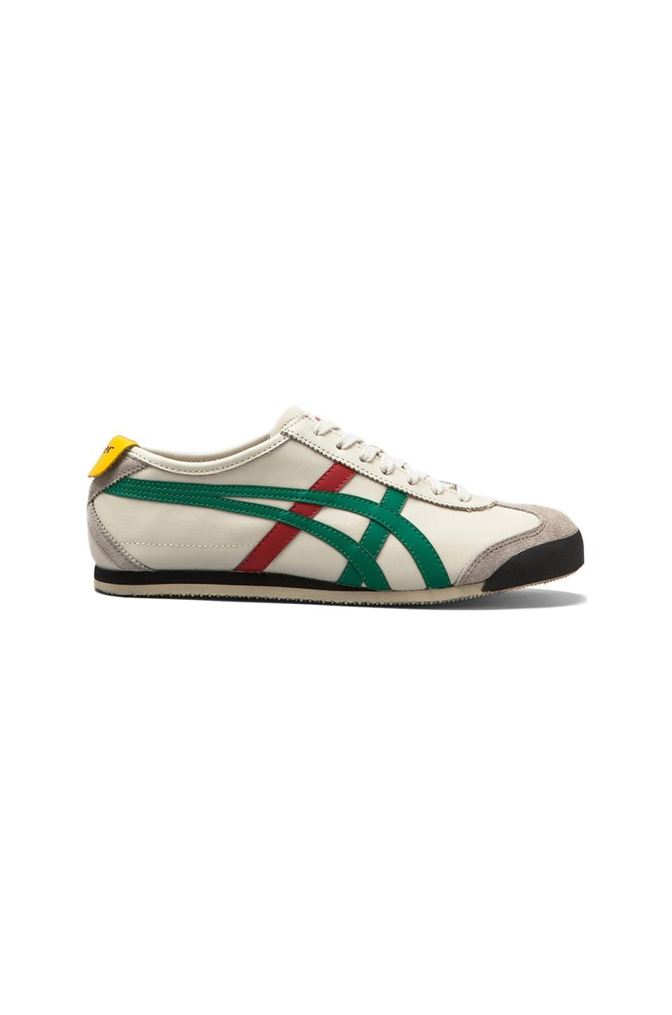 Onitsuka Tiger Mexico 66 in Birch/Green