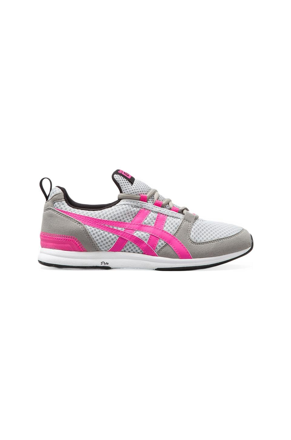 Onitsuka Tiger Ult-Racer in Light Grey/Pink