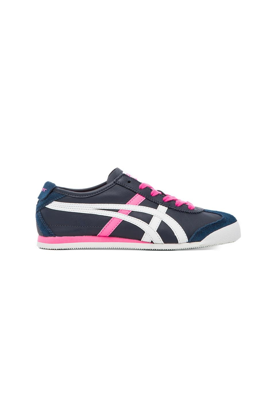 Onitsuka Tiger Mexico 66 Sneaker in Dark Navy & White