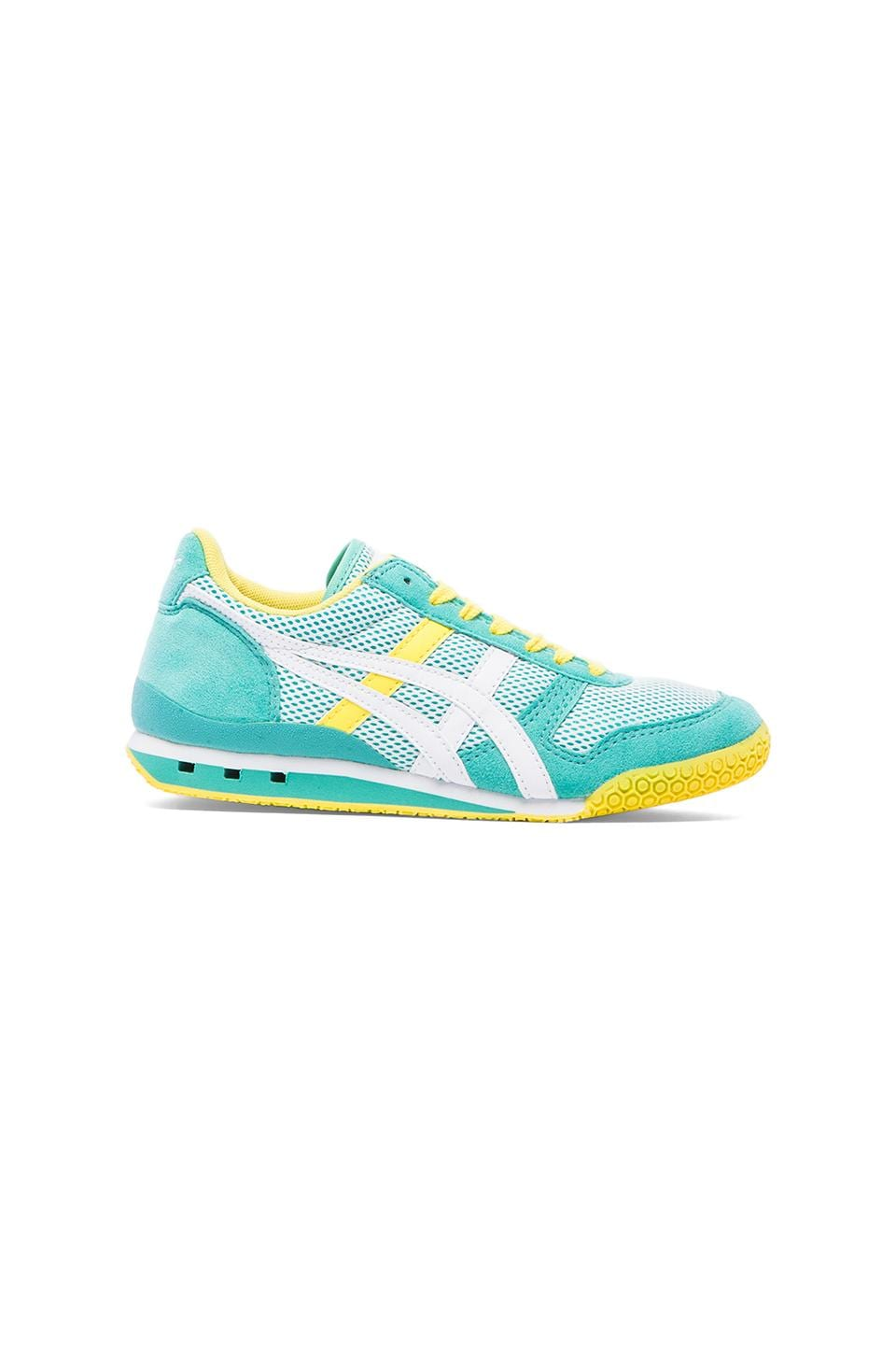 Onitsuka Tiger Ultimate 81 Sneaker in Mint & White