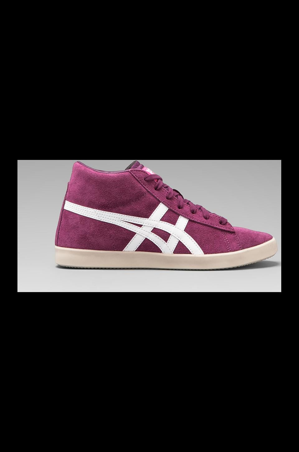 Onitsuka Tiger Grandest Sneakers in Purple/Off White