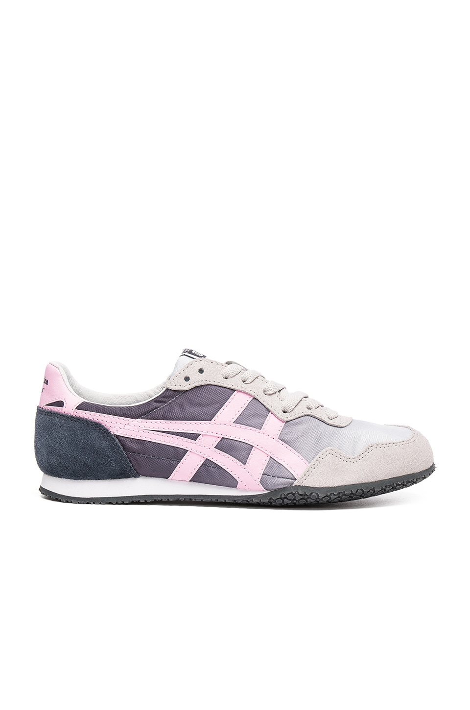 Onitsuka Tiger Serrano in Soft Grey and Light Pink