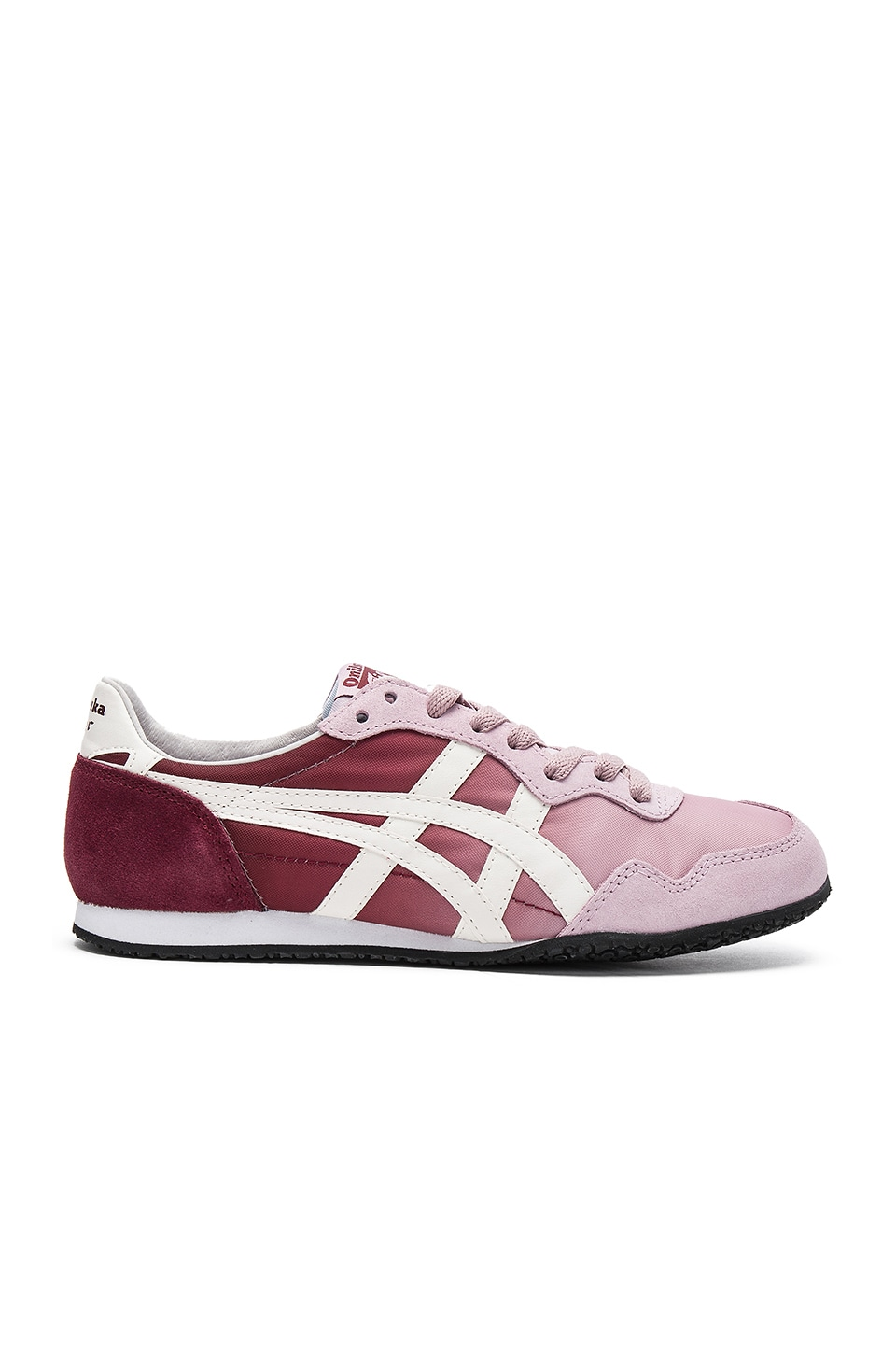 Onitsuka Tiger Serrano Sneaker in Lilac & Slight White