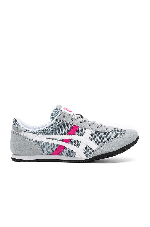 huge discount ce253 57c90 Onitsuka Tiger Machu Racer Sneaker in Light Grey & White ...