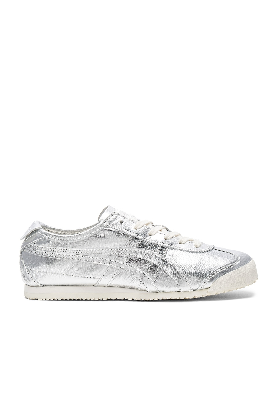 Onitsuka Tiger Mexico 66 Sneaker in Silver & Silver