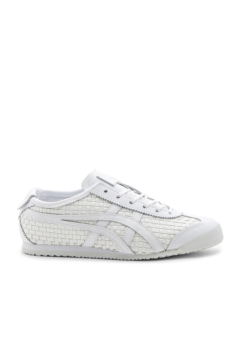Onitsuka Tiger Mexico 66 Sneaker in White & White