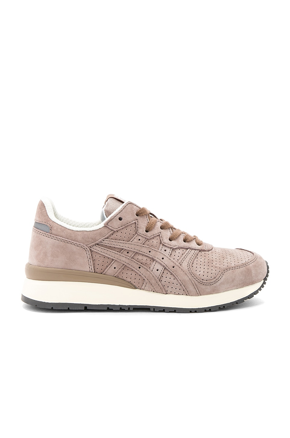 Onitsuka Tiger Tiger Ally Sneaker in Taupe Grey & Taupe Grey