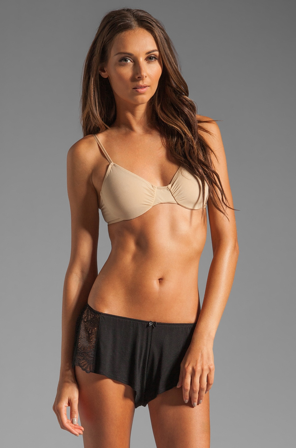 Only Hearts Second Skin Underwire Bra in Nude