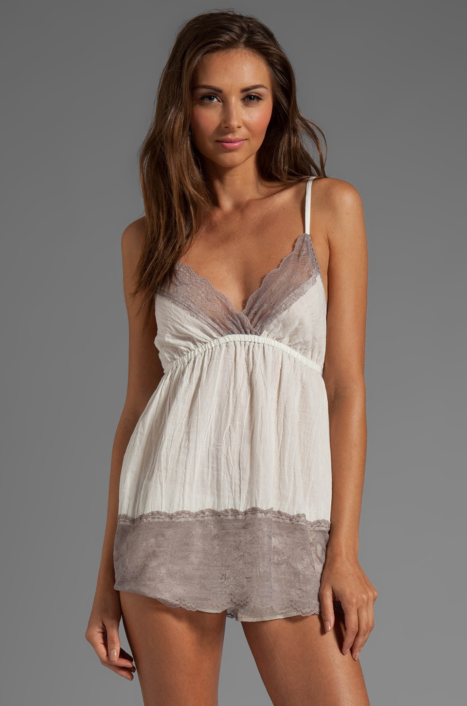 Only Hearts Biscuits for Breakfast Babydoll in Creme