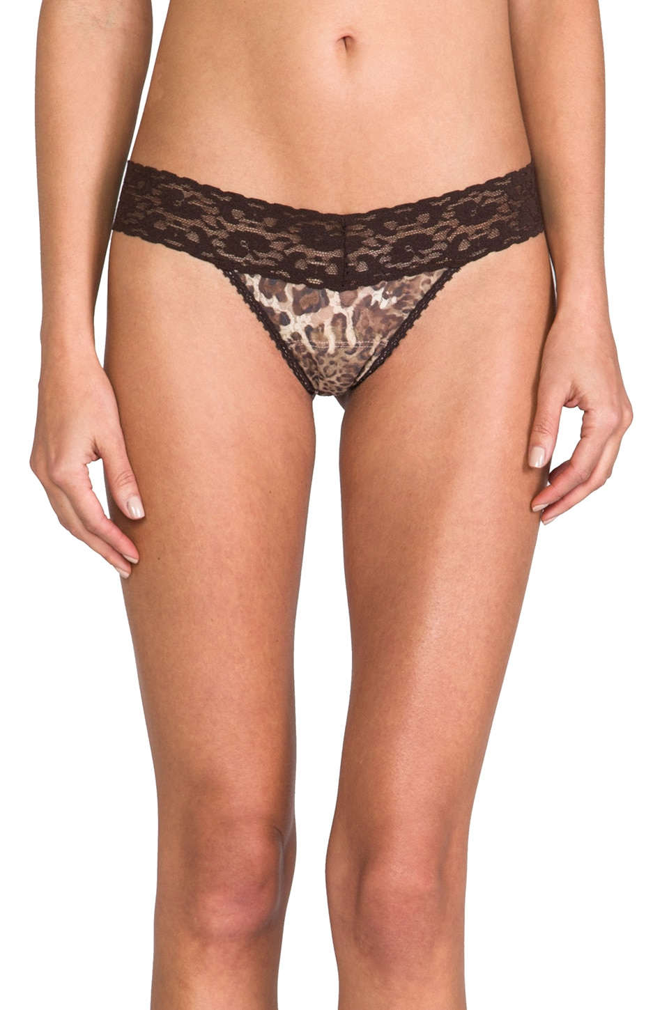 Only Hearts Leopard Lace 4 Pack in Leopard