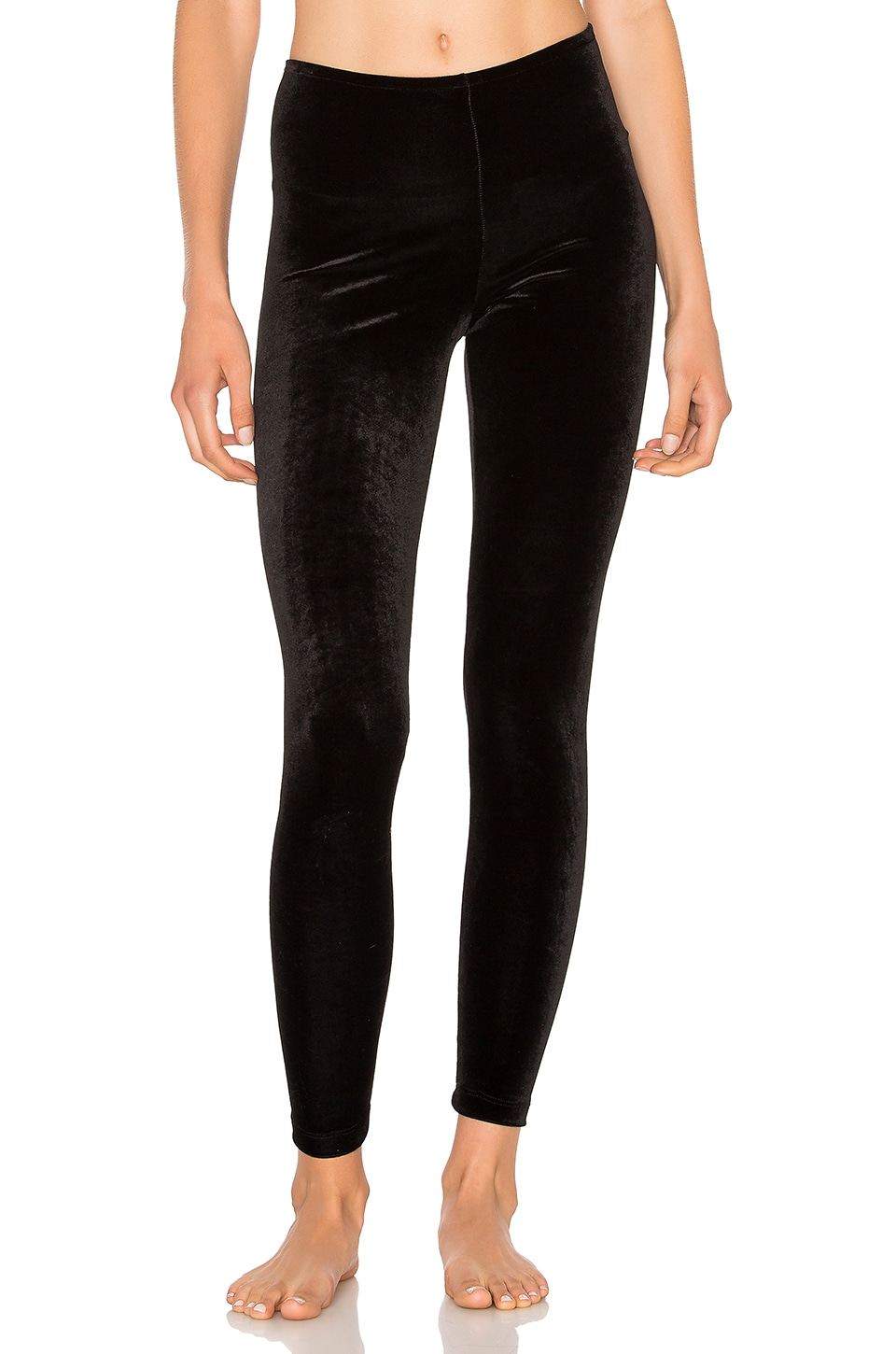 Only Hearts Velvet Underground Legging in Black