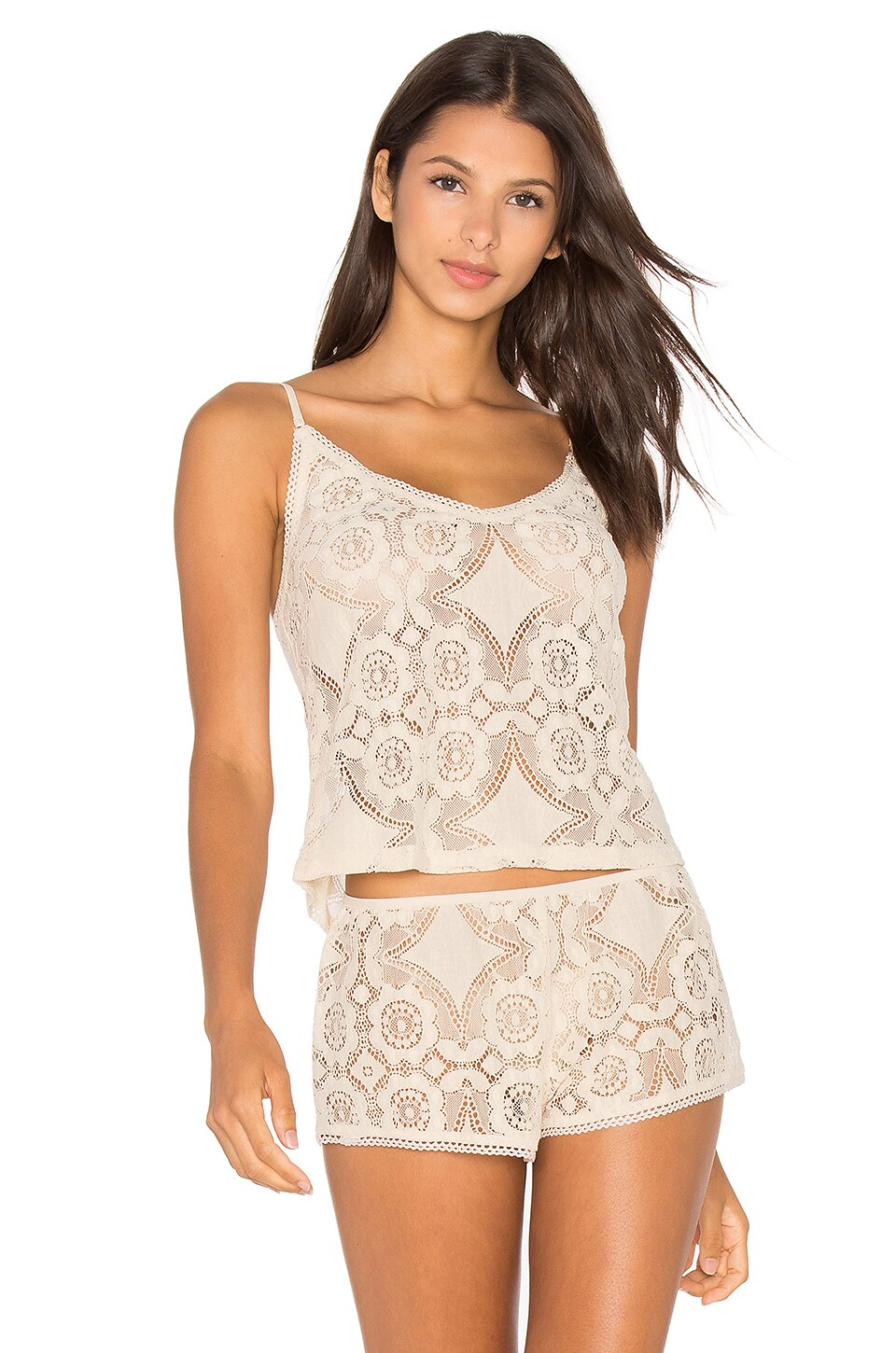 Mosaic Lace Cami by Only Hearts