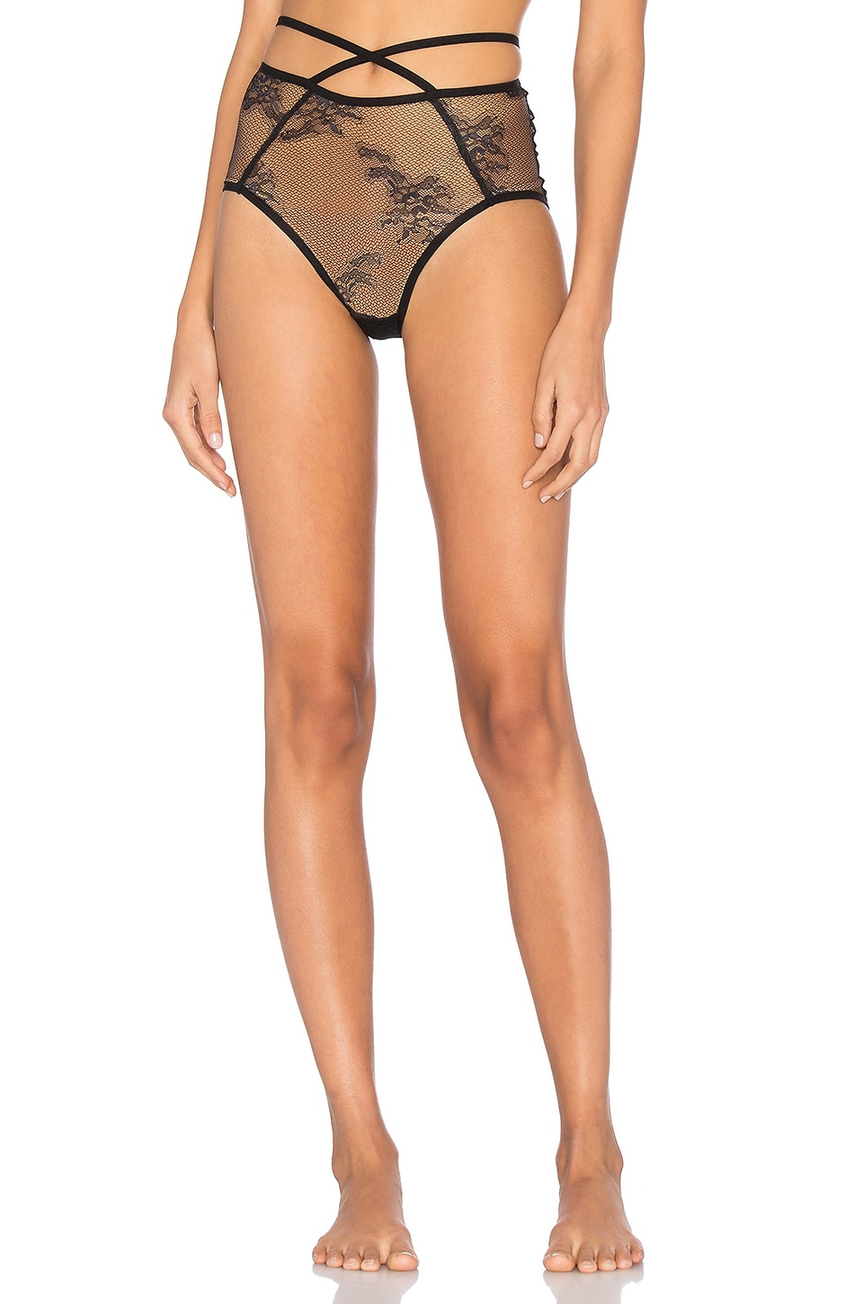 Miss Ruby High Waist Brief by Only Hearts