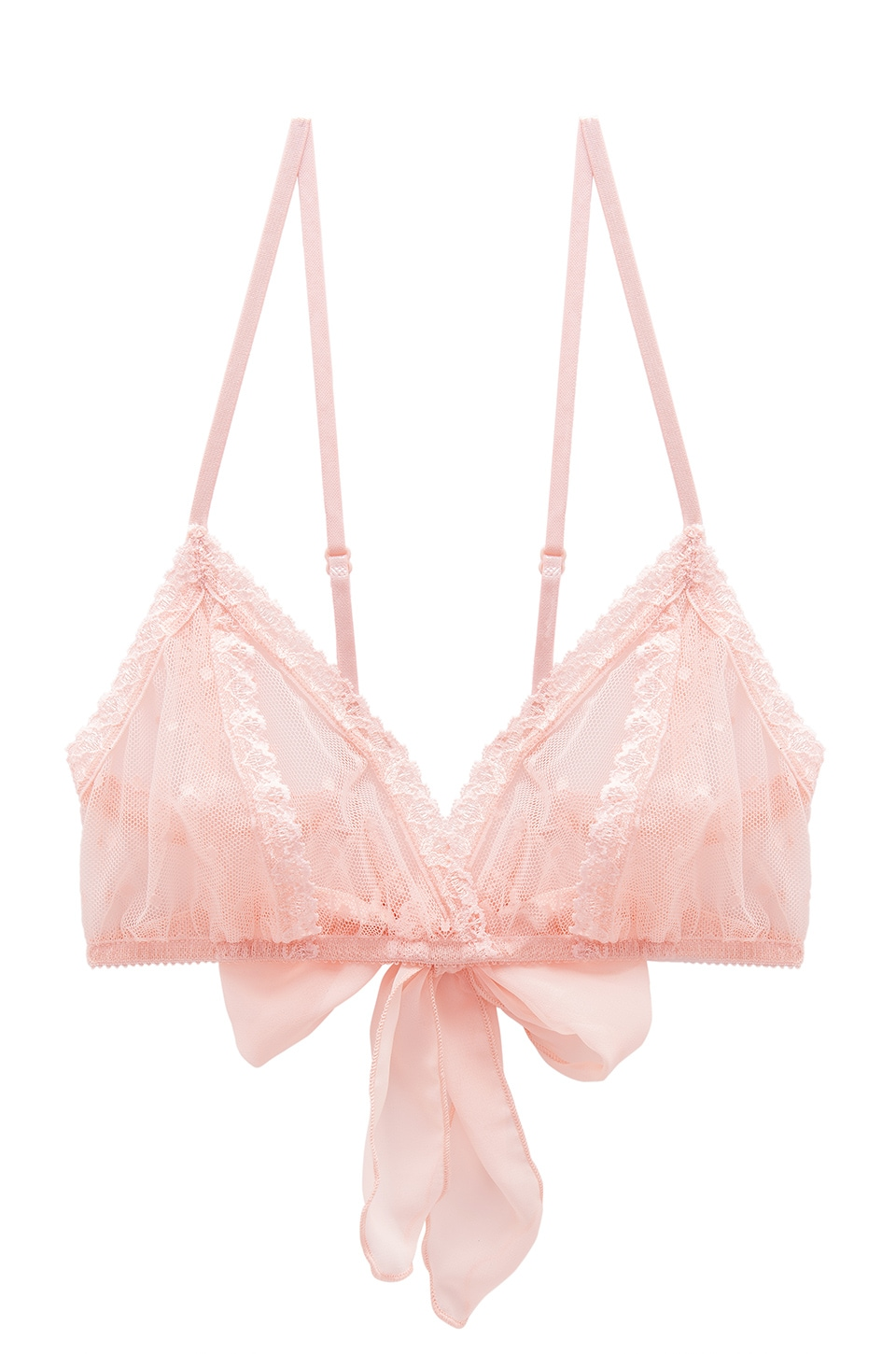 Only Hearts Coucou Lola Bralette in Pale Rose