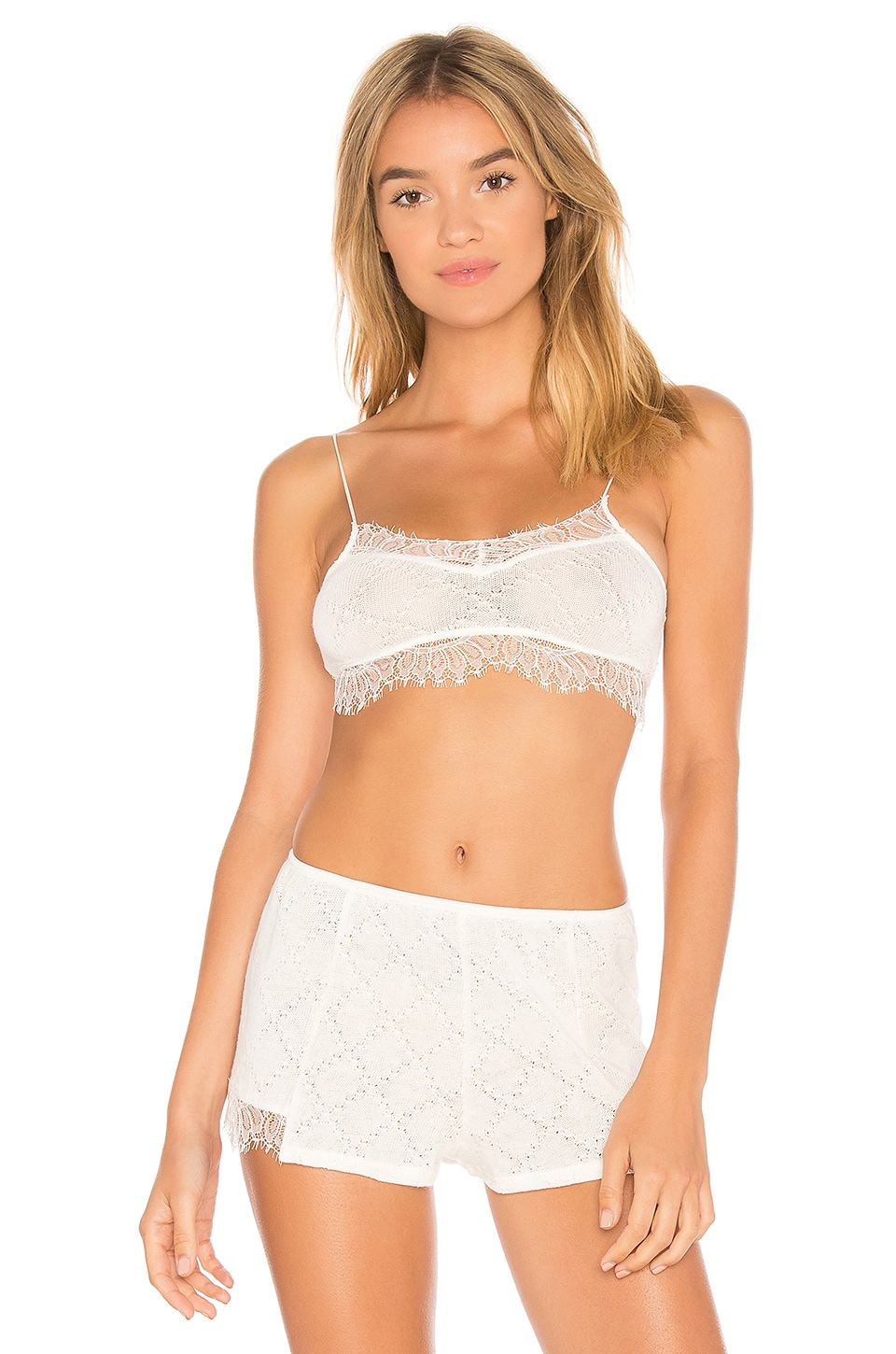 Only Hearts Phoenicia Bralette in Creme