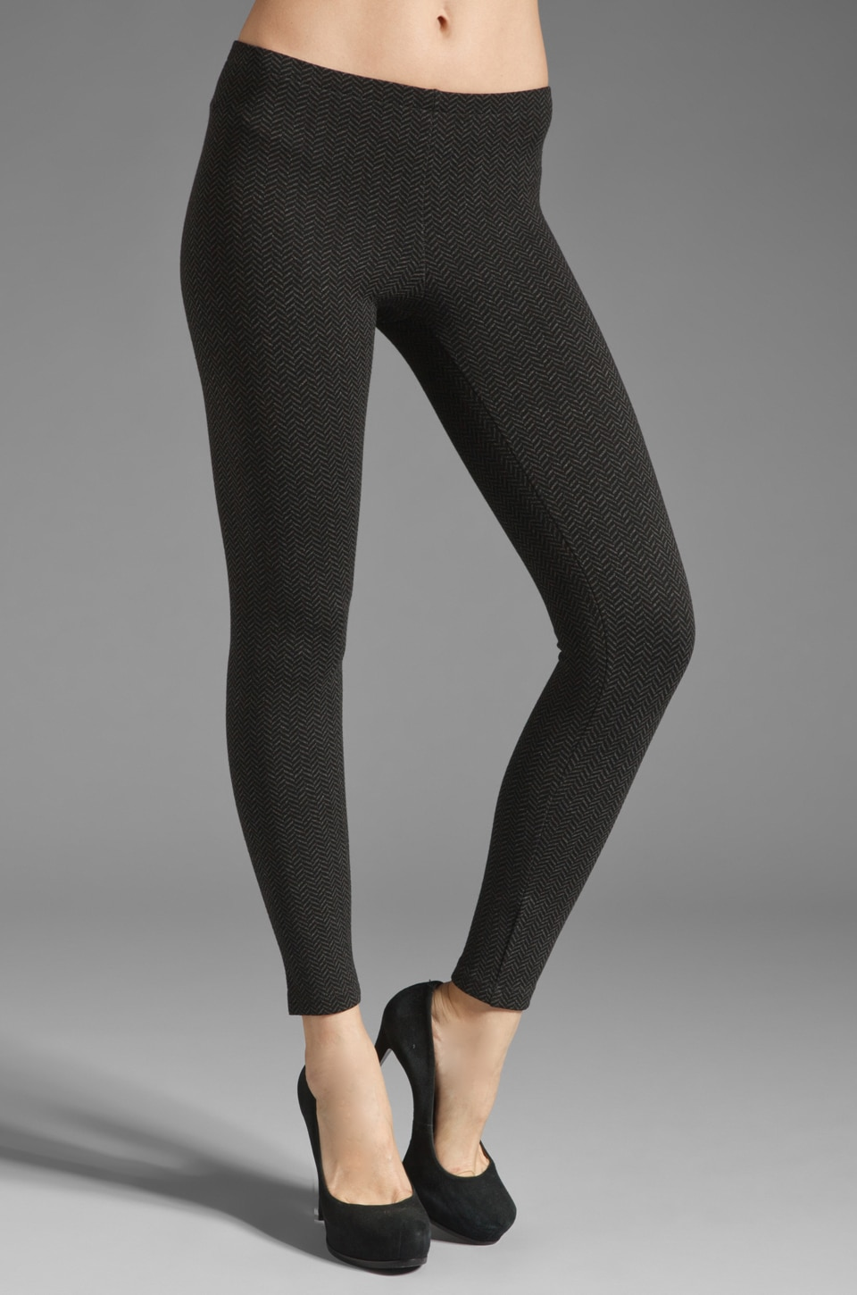 Only Hearts Wishbone Legging in Charcoal