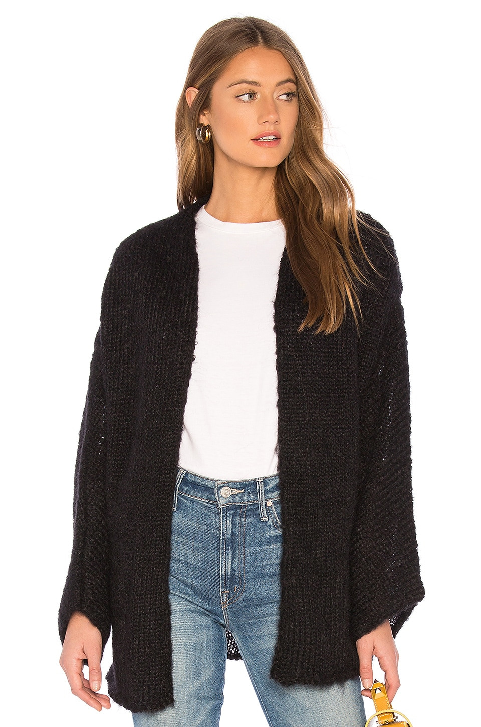 one on one Attractive Cardigan in Black