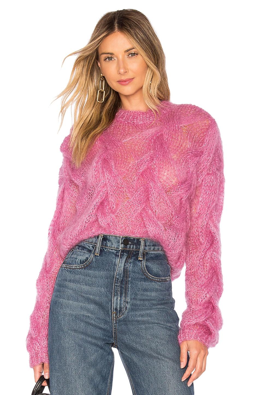 ONEONONE Amusing Sweater in Purple