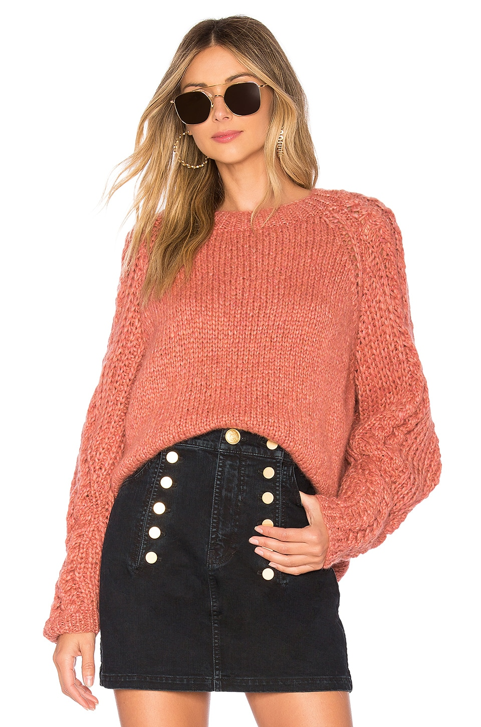 ONEONONE Confidence Sweater in Pink