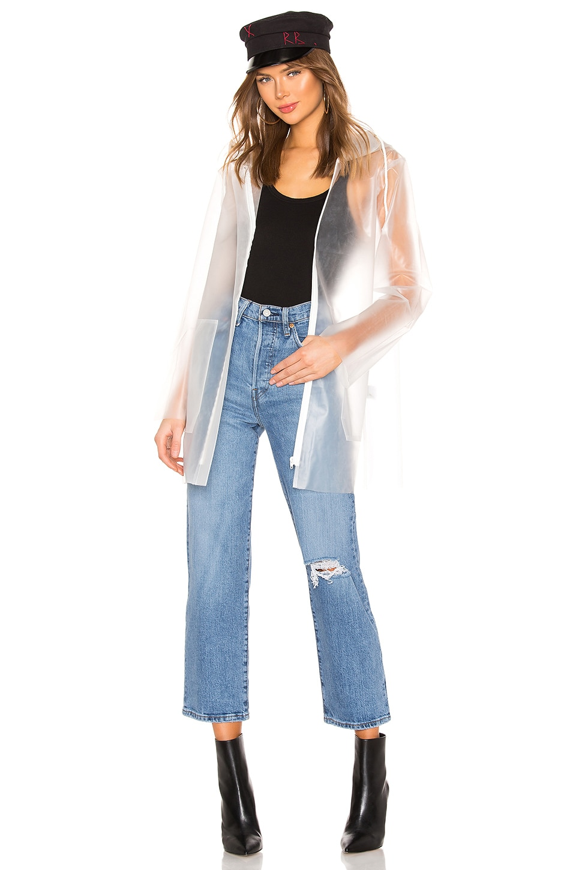 ON PARLE DE VOUS Jina Jacket in Transparent