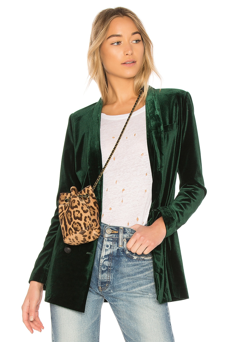 ON PARLE DE VOUS Dominante Jacket in Green