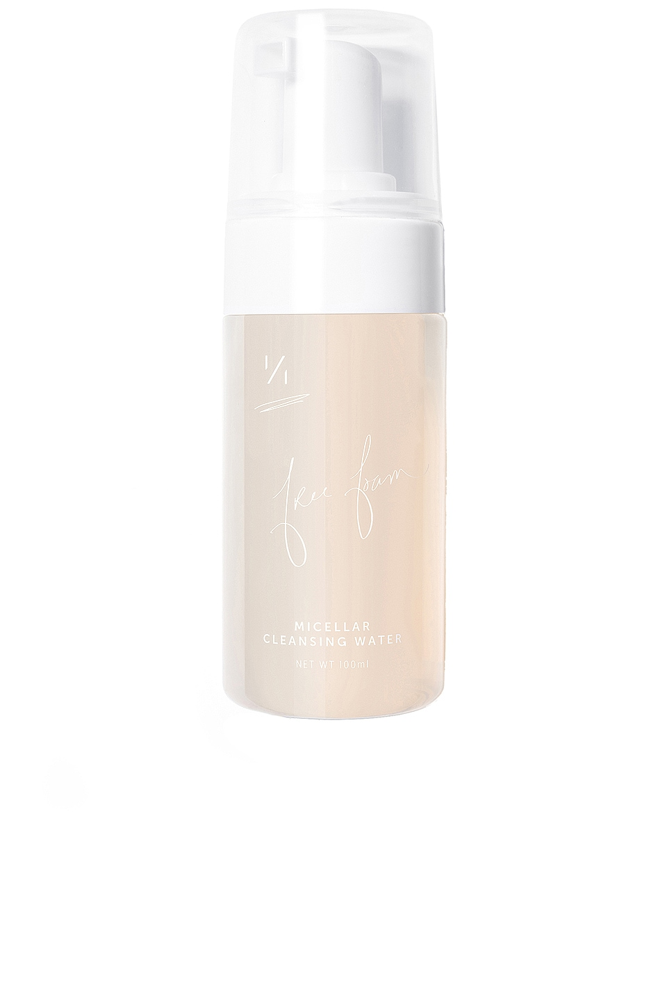 One Over One Free Foam Micellar Cleansing Water