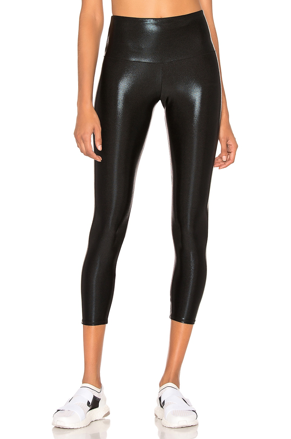 onzie High Basic Midi Legging in Black Mystique