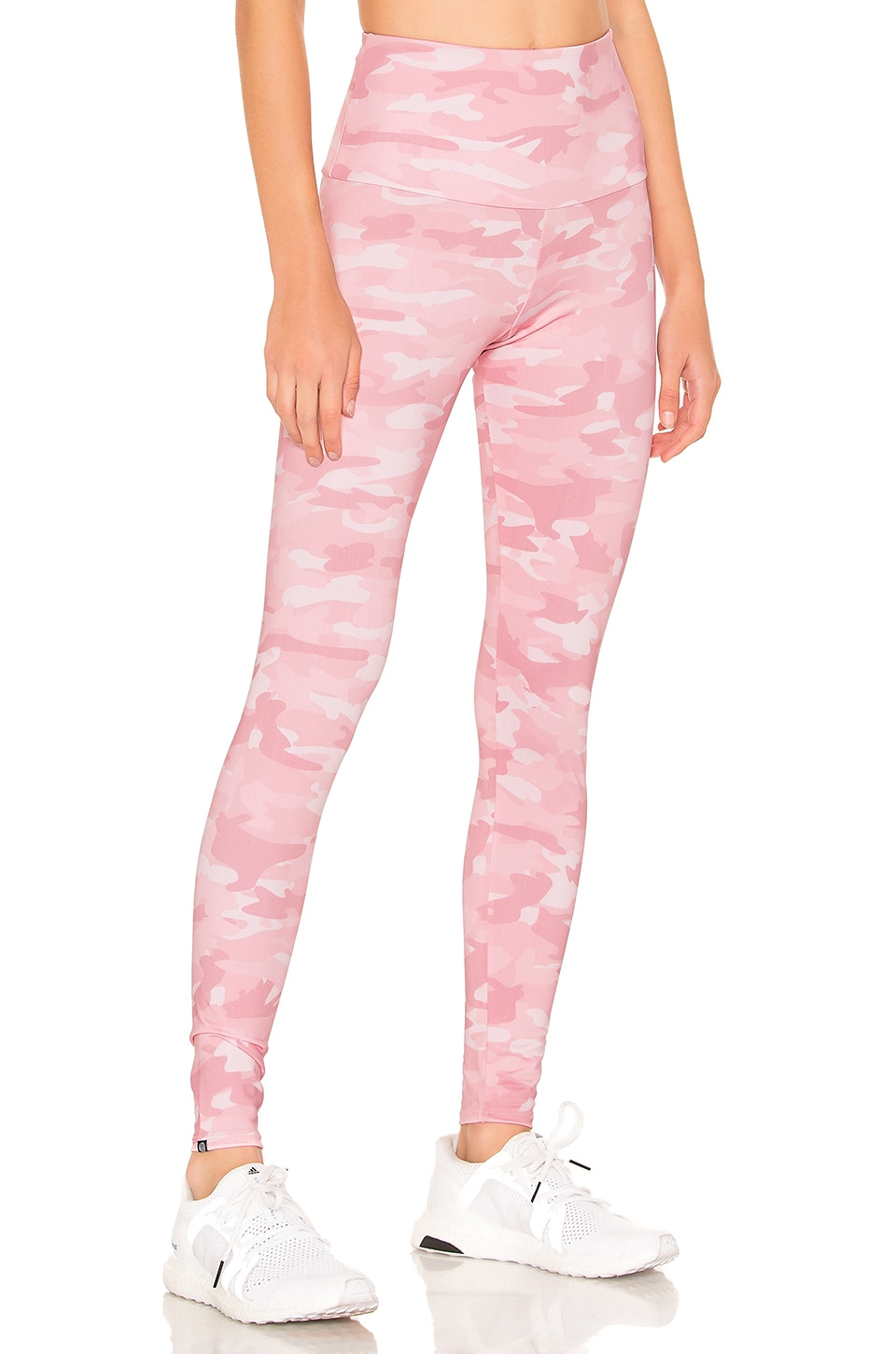 onzie High Rise Legging in Blush Camo