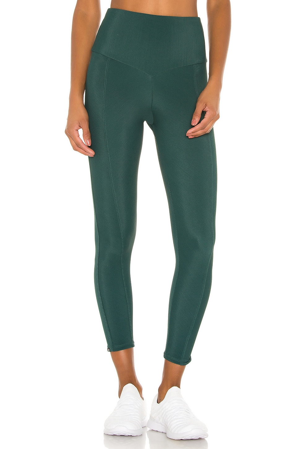 onzie Sweetheart Midi Legging in Alpine Rib