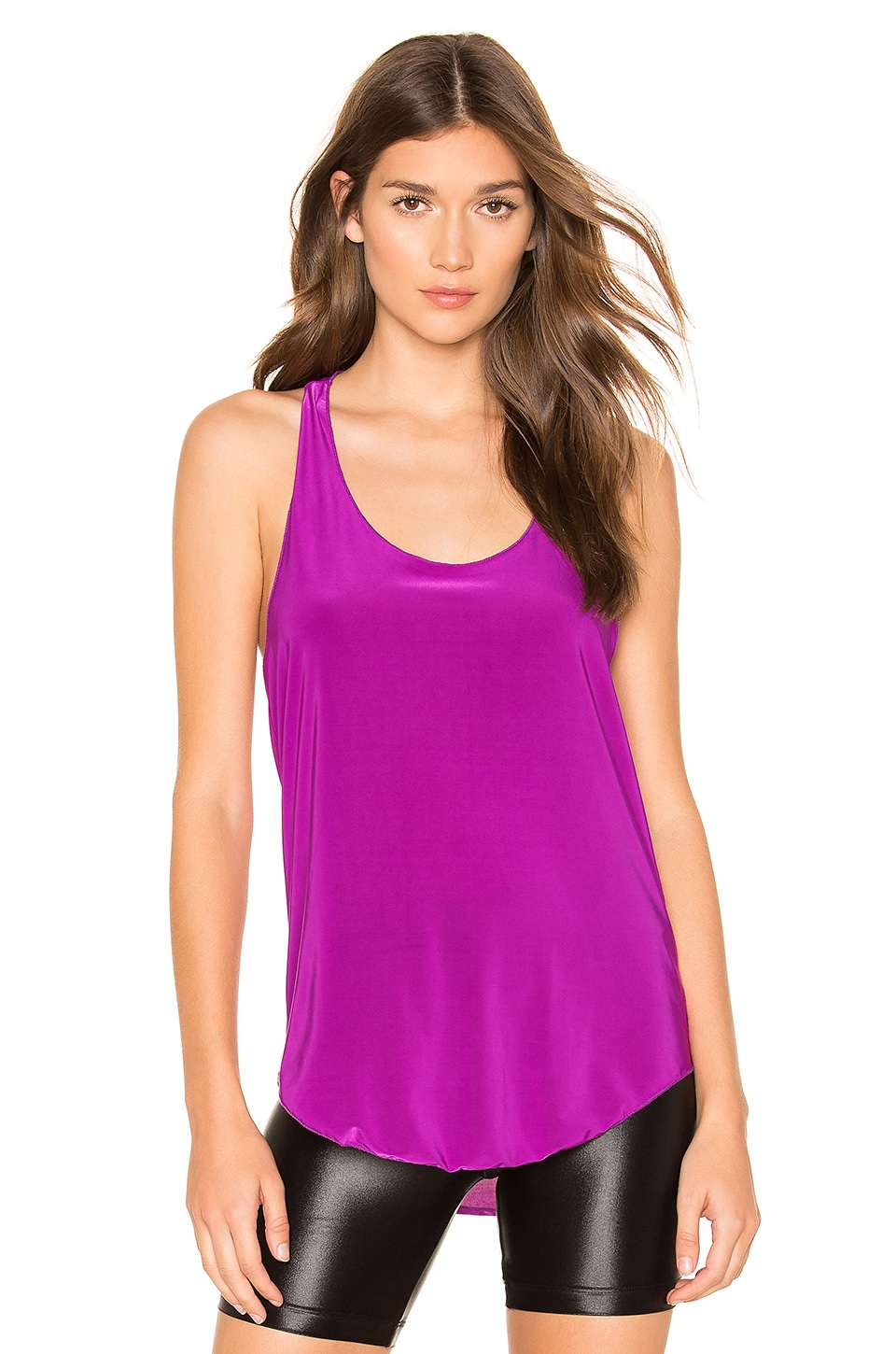 onzie Glossy Flow Tank in Orchid