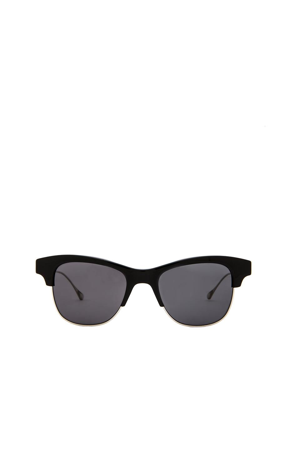 Oliver Peoples WEST Hobson in Black & Flint Polar