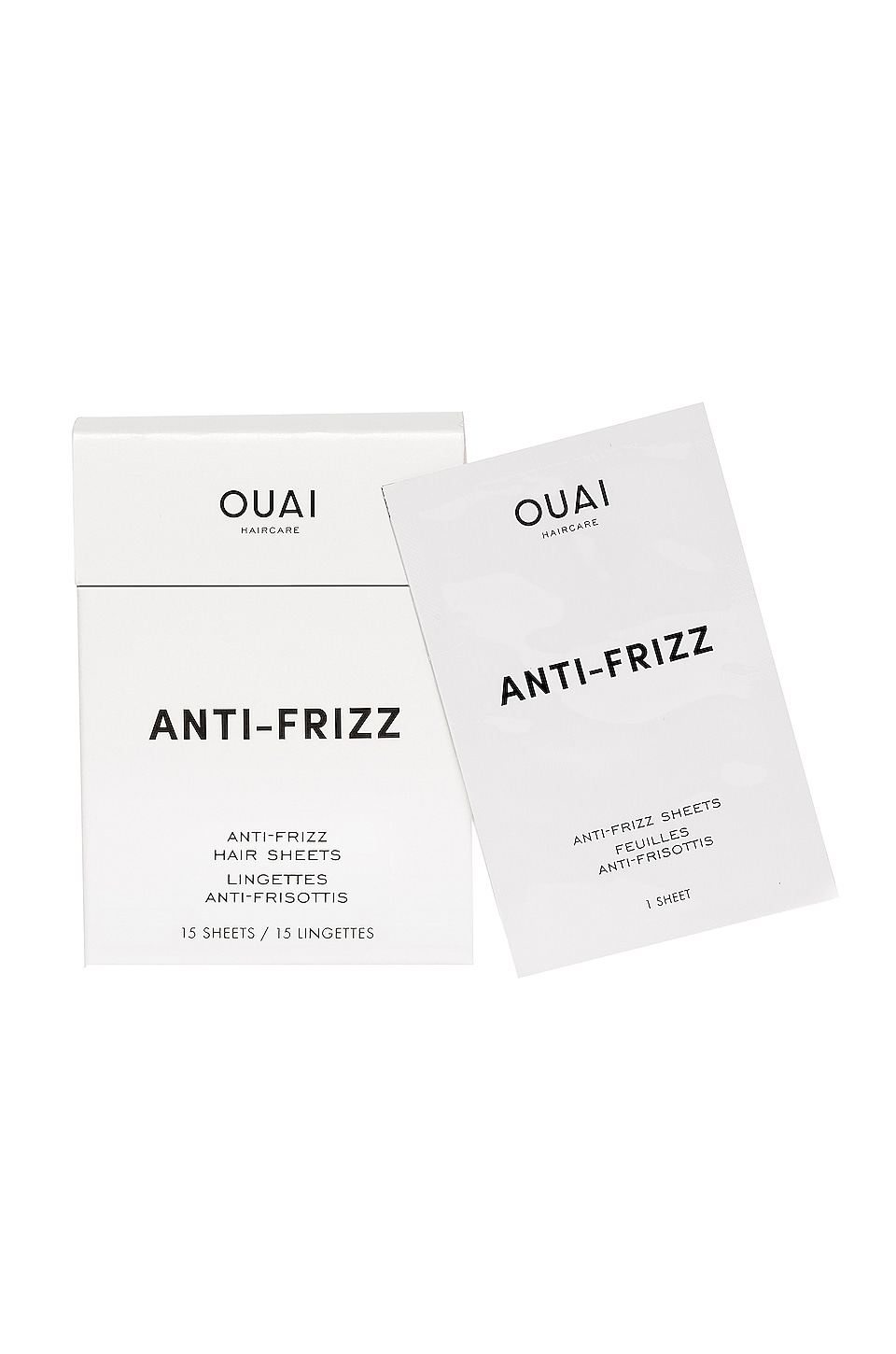 OUAI Anti Frizz Smoothing Sheets