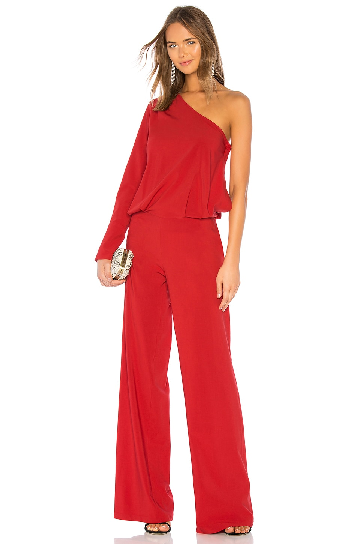 OUD Callista Jumpsuit in Red