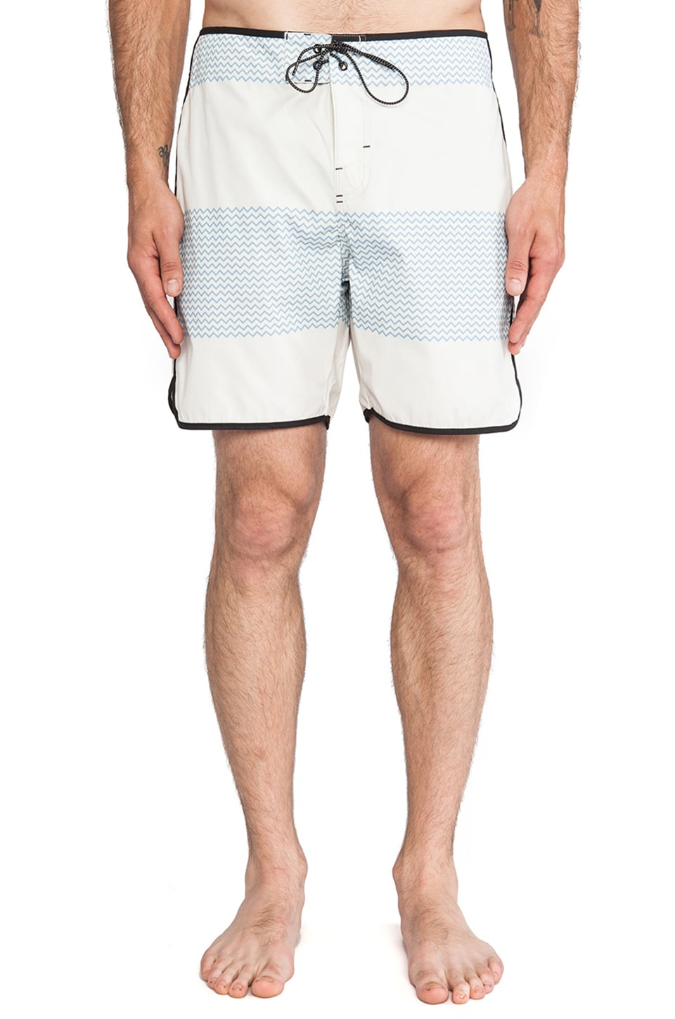 ourCASTE Shelton Boardshort in Jag Wave