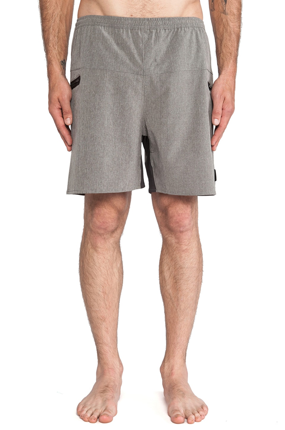 ourCASTE Rocko Boardshort in Grey