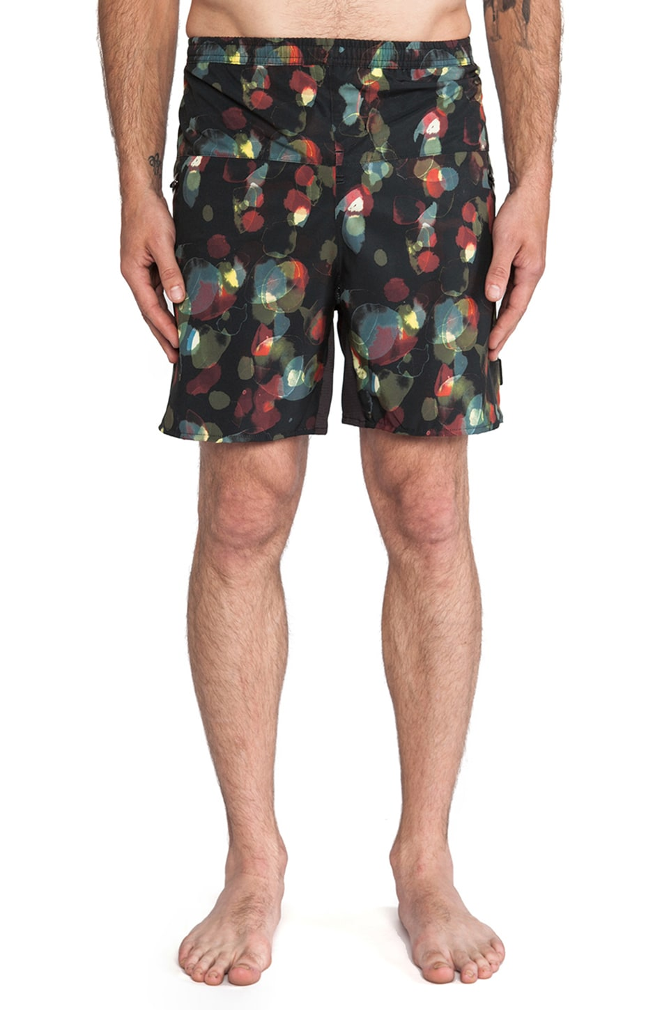 ourCASTE Rocko Boardshort in Watercolor
