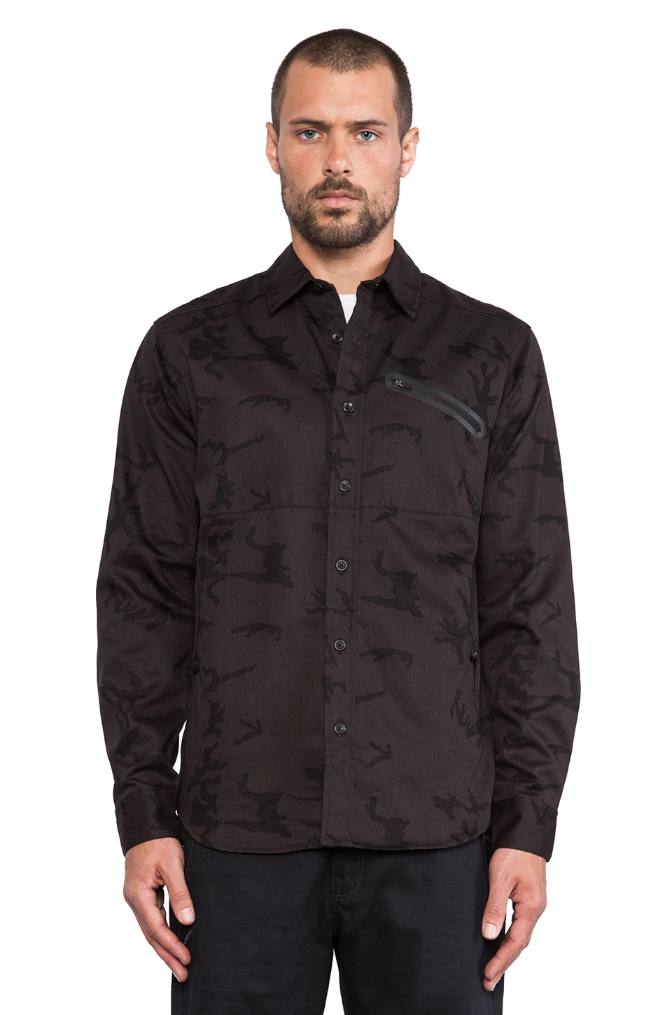 ourCASTE Moose Shirt in OD Camo