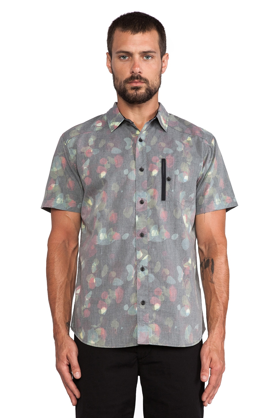 ourCASTE Nick Shirt in Watercolor