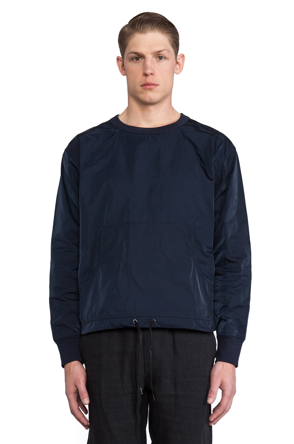 Our Legacy Oil Pullover Sweater in Blue