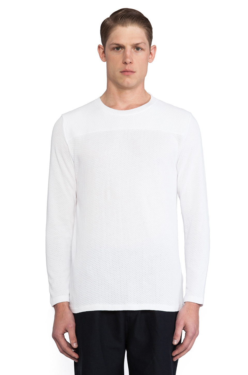Our Legacy Moto Sweater in White