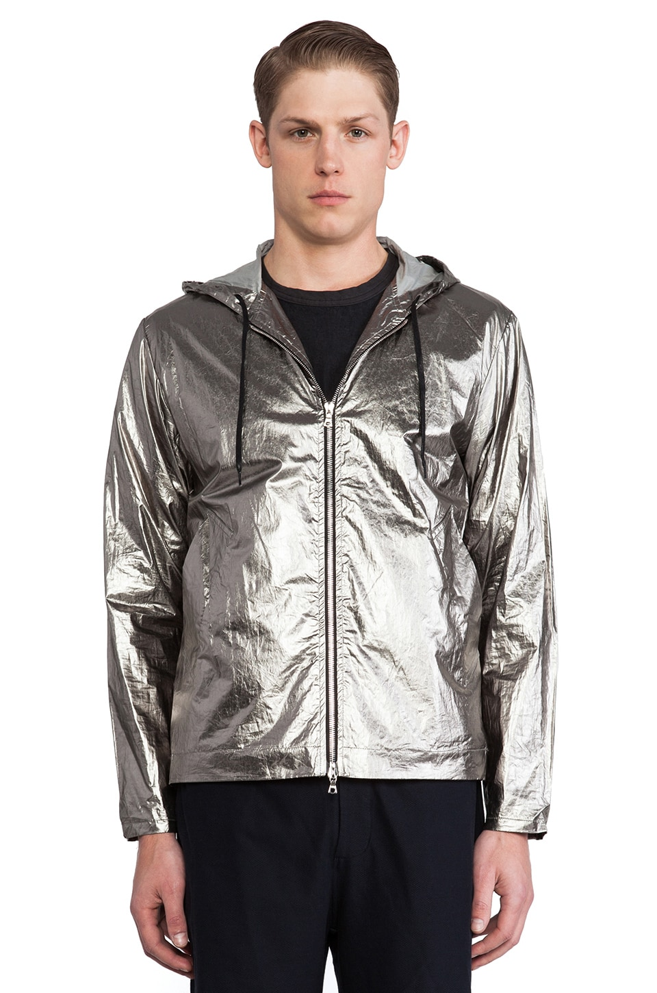 Our Legacy Platinum Windbreaker in Silver