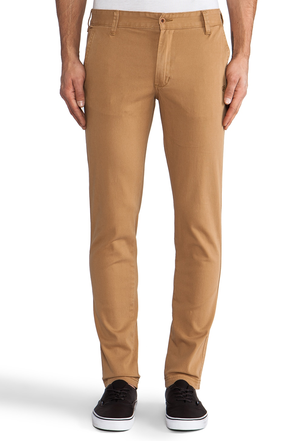 OURS Ty Skinny Chino in Mustard