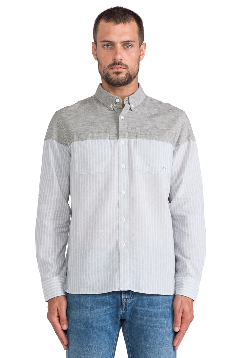 OURS Tosh Shirt in Sea Green