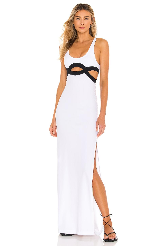 OYE Swimwear Elvan Dress in White