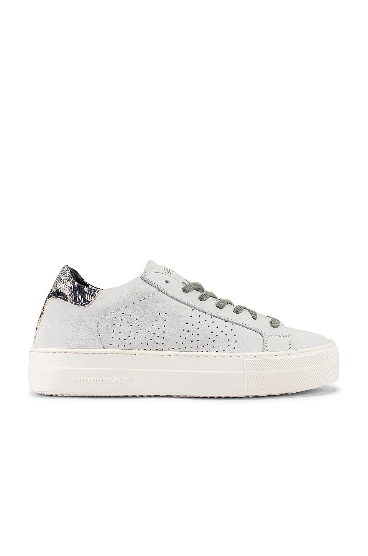 P448 Thea Sneaker in White \u0026 Twister