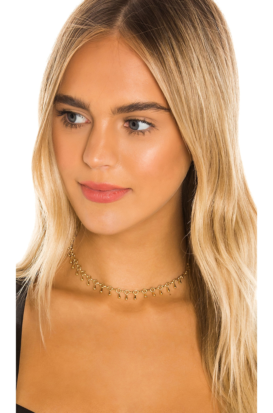 Paradigm Mingle Choker in Gold
